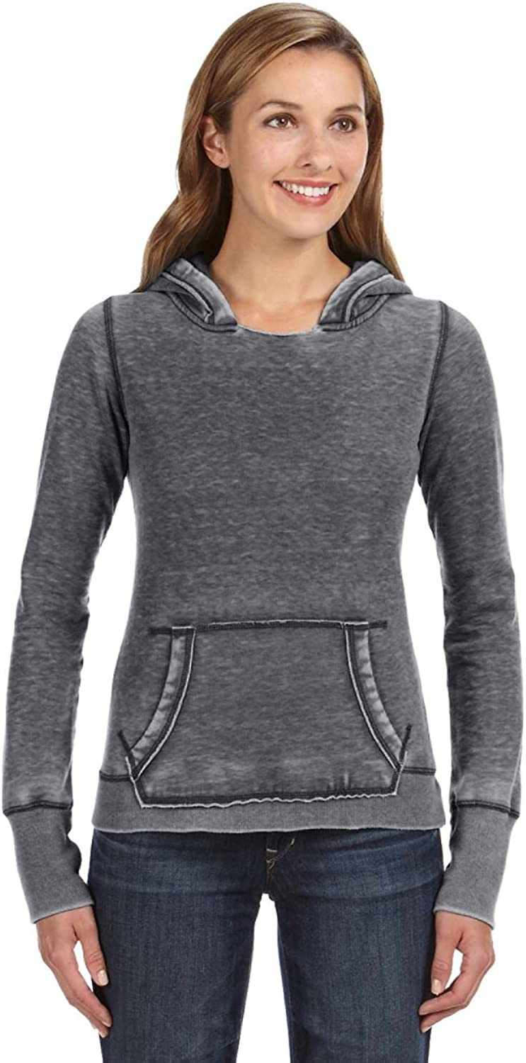 America Ladies Zen Pullover Fleece Hood J