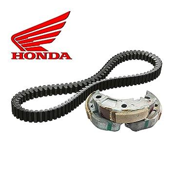 Lava embrague originales + Correa Transmisión Original Honda SH 300 2011/2014: Amazon.es: Coche y moto