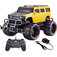 The Flyer's Bay Big and Mean Rock Crawling Scale Modified Hummer RC Car/Monster Truck (1:20 Scale)
