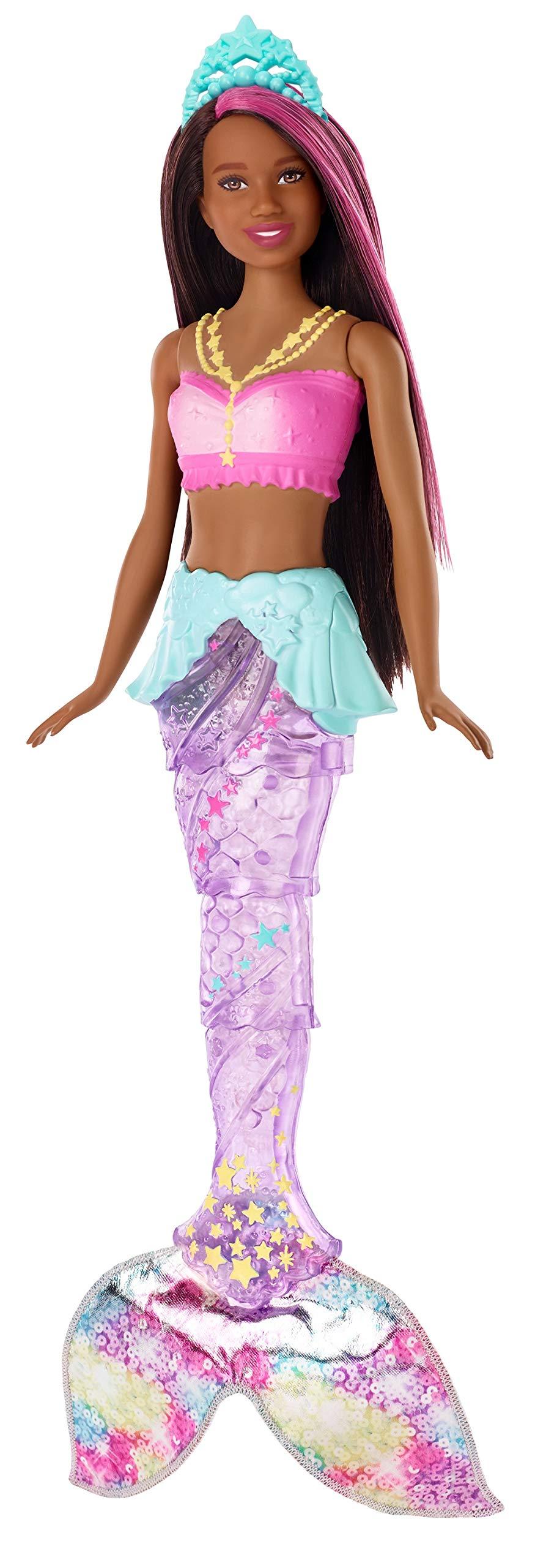 Barbie Dreamtopia Sparkle Lights Mermaid, Brunette