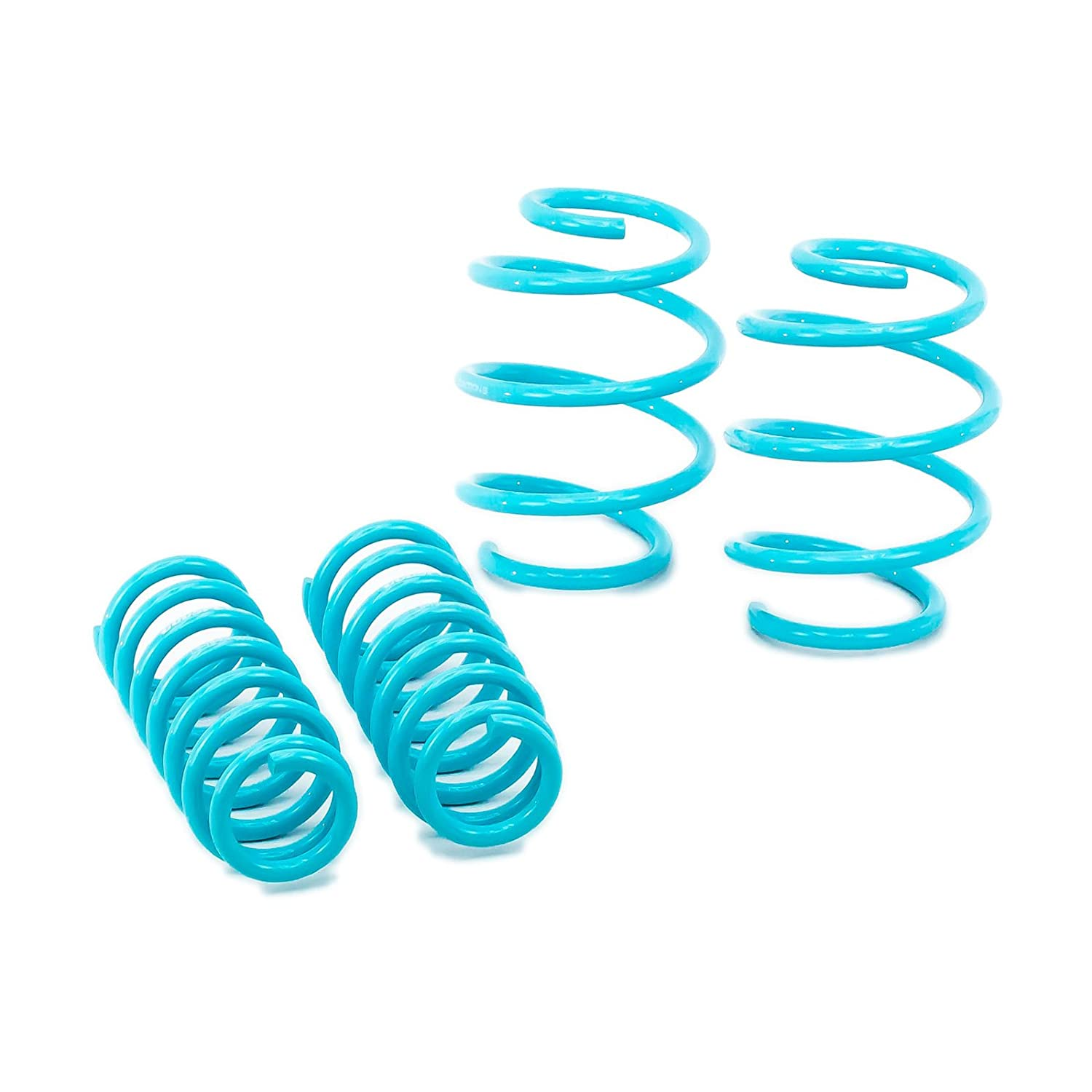 Godspeed(LS-TS-KA-0001) Traction-S Performance Lowering Springs, Reduce Body Roll, Improve Steering Response, Set of 4