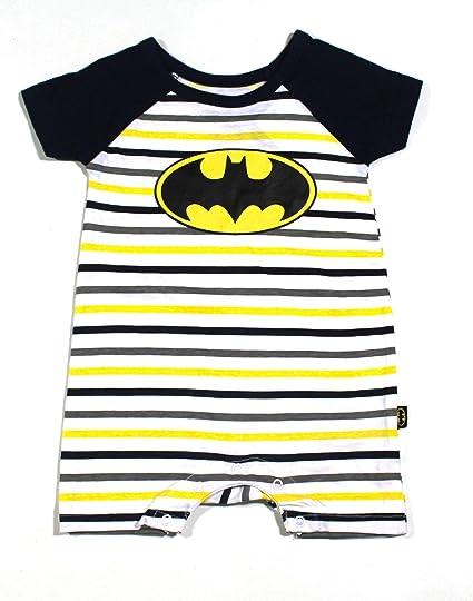 ba841e891c9f Image Unavailable. Image not available for. Color  KWC Baby Boys Batman  Romper Size 3 6 Months