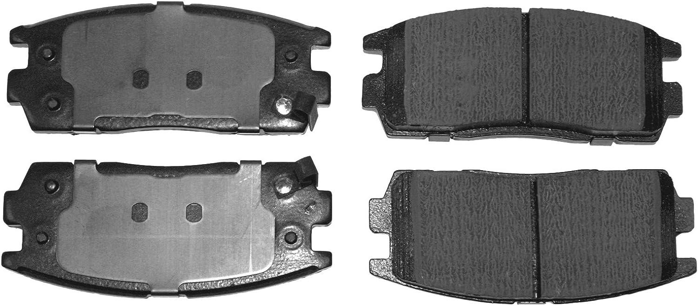 febi bilstein 16631 Brake Pad Set pack of four