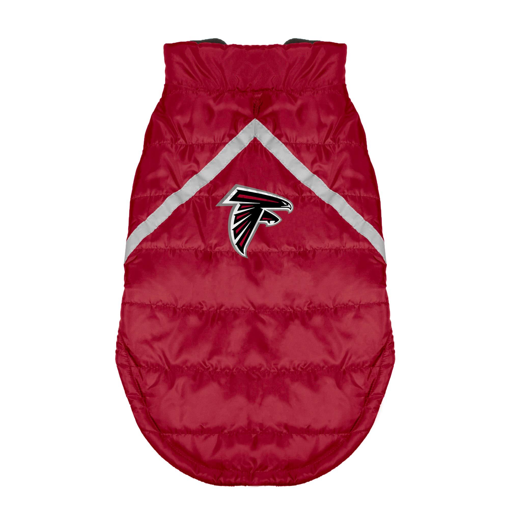 NFL Atlanta Falcons Pet Puffer Vest, XS