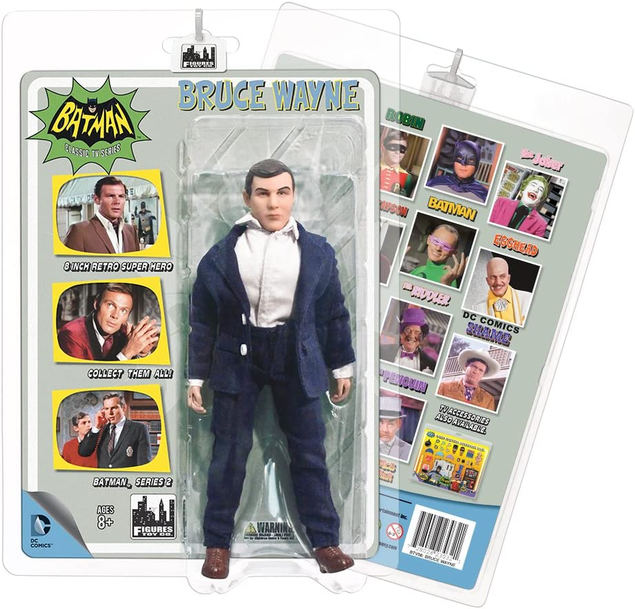 Batman Classic 1966 TV Series 2 Bruce Wayne 8-Inch Action Figure