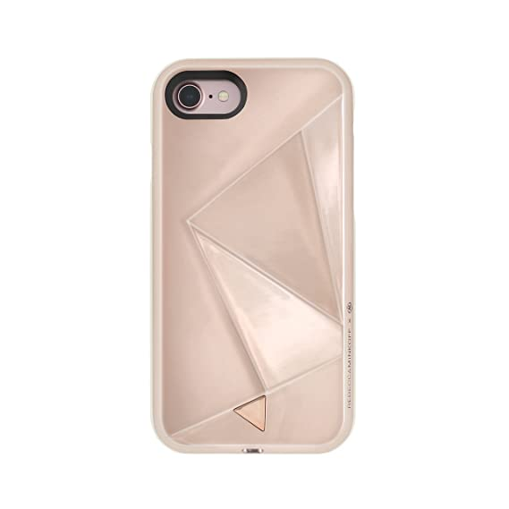 check out 2a281 cc544 Rebecca Minkoff iPhone 7 Case, Glow Selfie Designer Phone Case [Protective]  fits Apple iPhone 7 - Rose Gold
