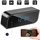 Amazon Price History for:WiFi Spy Hidden Camera Clock,DigiHero WiFi Camera Alarm Clock,Nanny Cam,Motion Alert Notification on IOS/Android Phone/Tablets (Support 128G SD Card) A