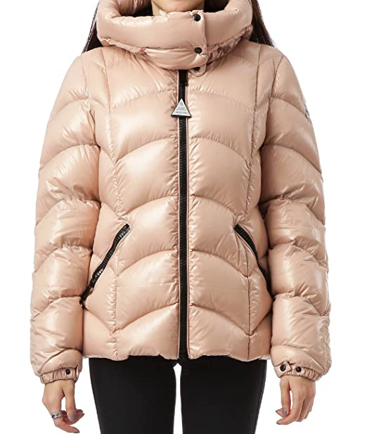 4344f1a7dba2 Wiberlux Moncler Akebia Women s Snap-Buttoned Hood Zip-Front Down Jacket  Size 0 Light