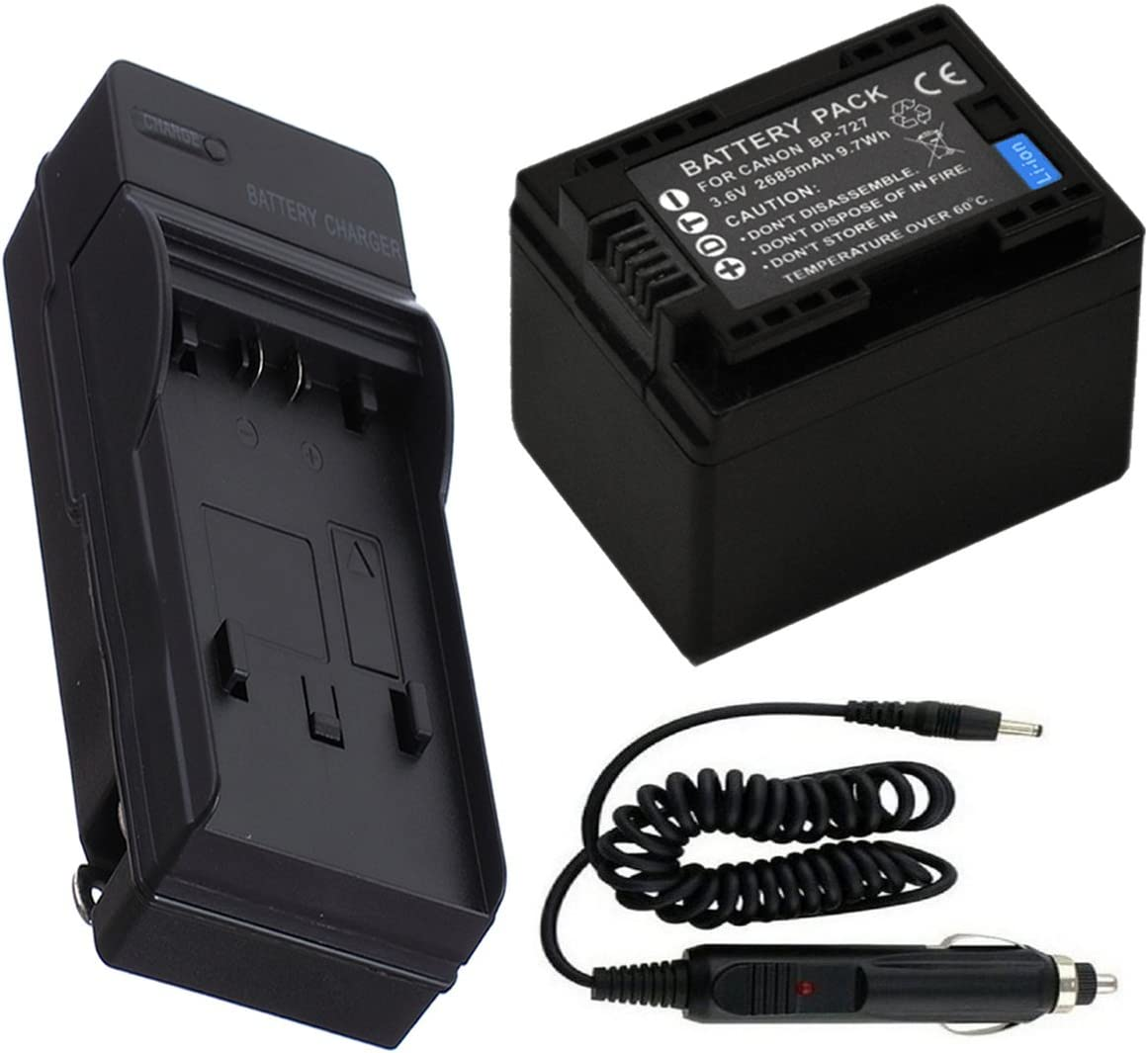 USB Battery Charger for Canon LEGRIA HF R56 R57 R66 R67 R68 HD Camcorder