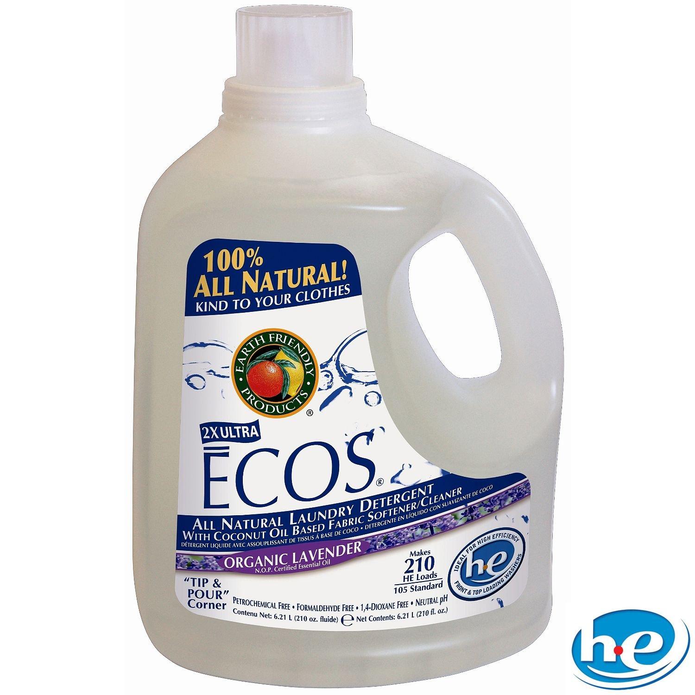 Ecos Liquid Laundry Detergent Lavender - 2 Ct. - 210 Oz. Ea. - 420 Loads by ecos (Image #1)