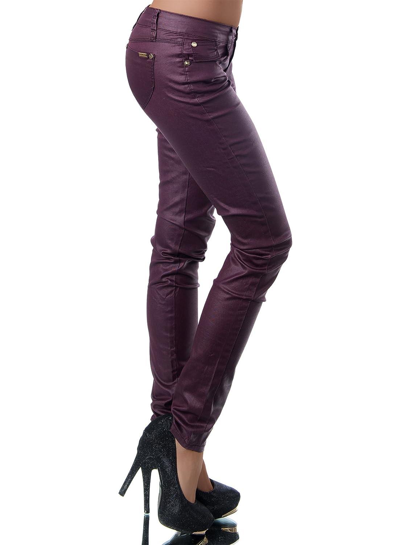 G542 Damen Jeans Hose Hüfthose Damenjeans Hüftjeans