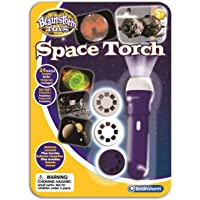 Brainstorm Toys Space Torch & Projector, Blue, Single Space Torch (E2008)