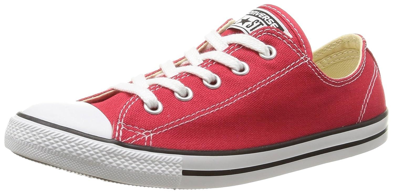 Converse All Star Dainty Ox Lo, Unisex - Erwachsene Sneaker Rot (Varsity ROT 600)