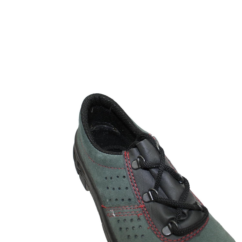 PSH - Calzado de protección de Piel para hombre Verde verde, Verde - verde, 44 EU