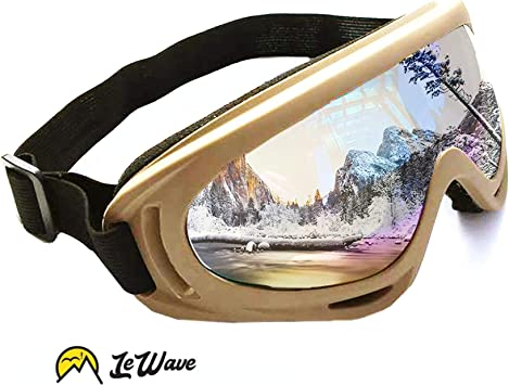 GOGGLES Snow Snowmobile Snowboard Skating Skiing SKI UV Protect Adult Windproof