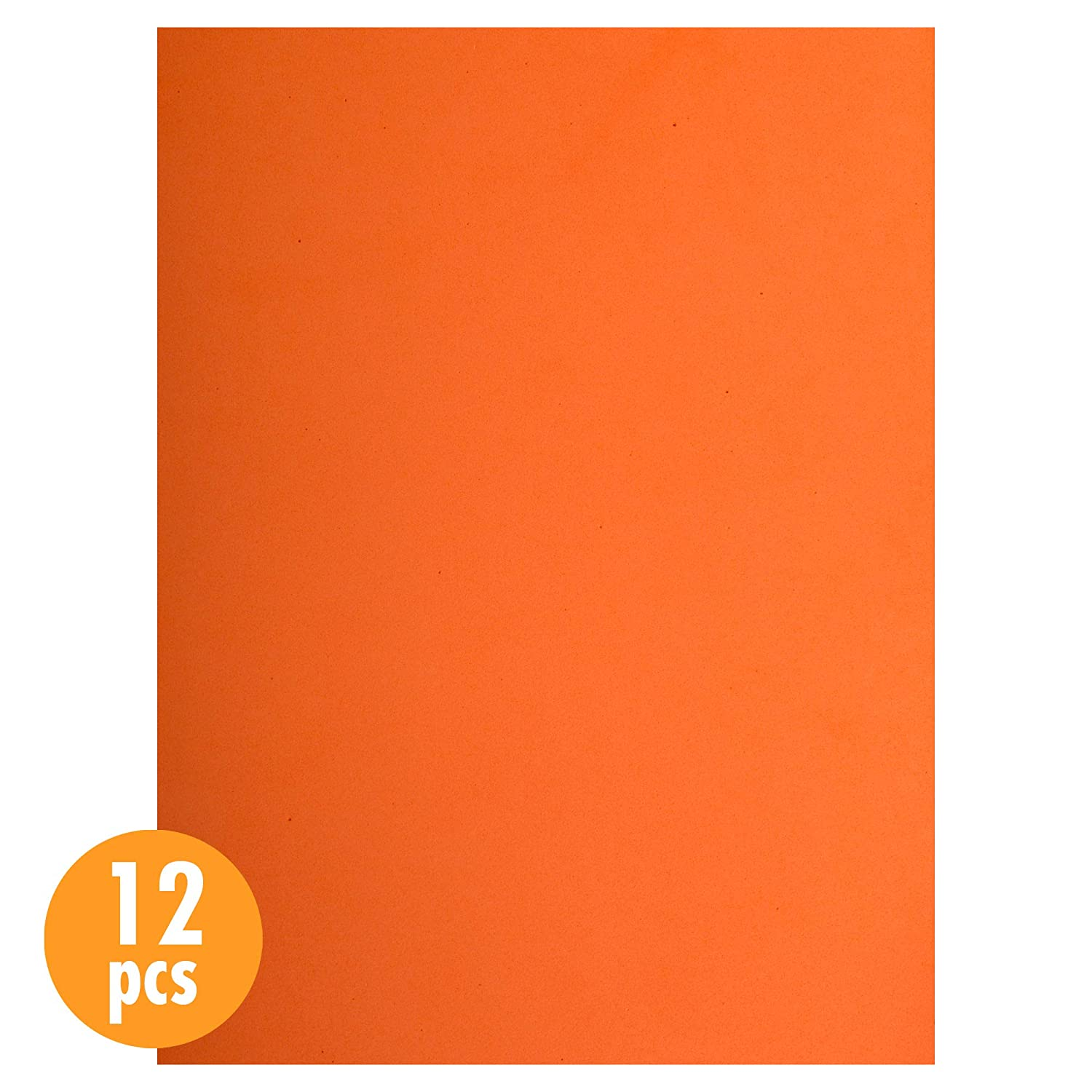 Peach 12 Pieces Time 4 Crafts Craft EVA Foam Sheets 9 x 12 inches