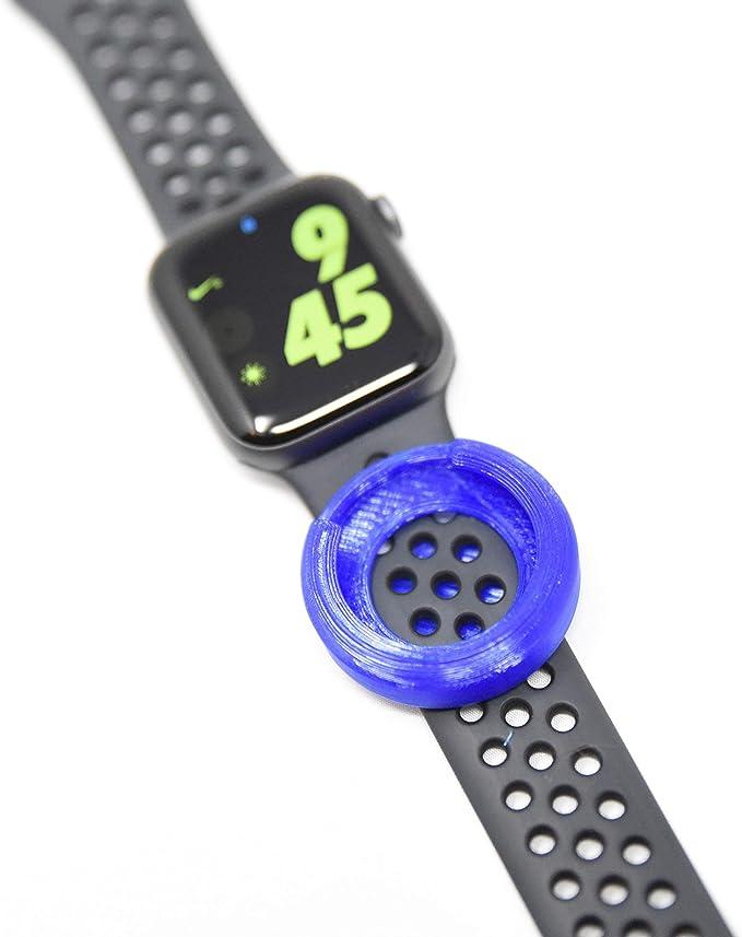 Luke3DP Watch Adapter for Holding a Carnival Ocean Medallion (Blue)