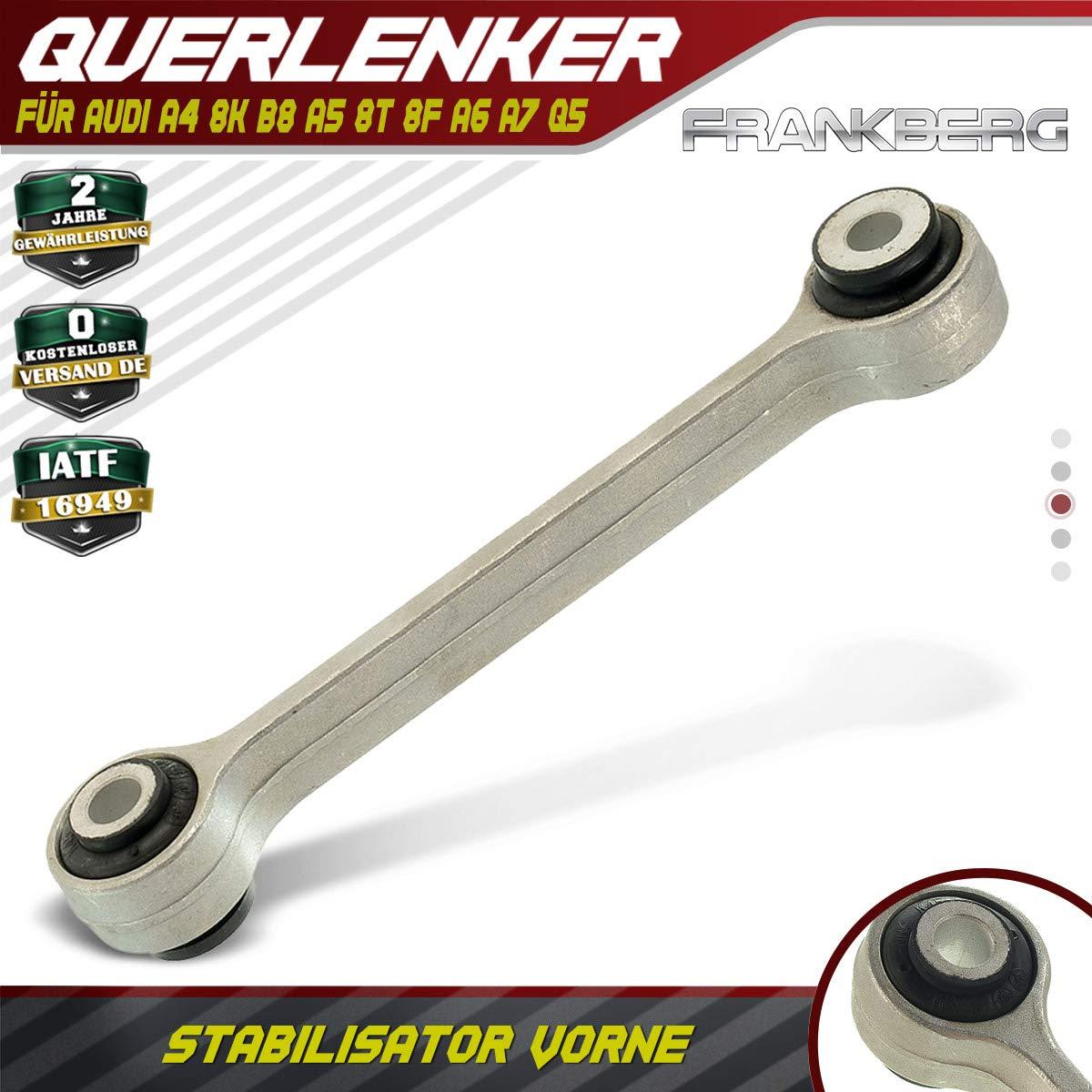 Koppelstange Stabi Strebe Stabilisator Vorne f/ür A4 8K B8 A5 8T 8F A6 A7 Q5 2007-2017 8K0411317C