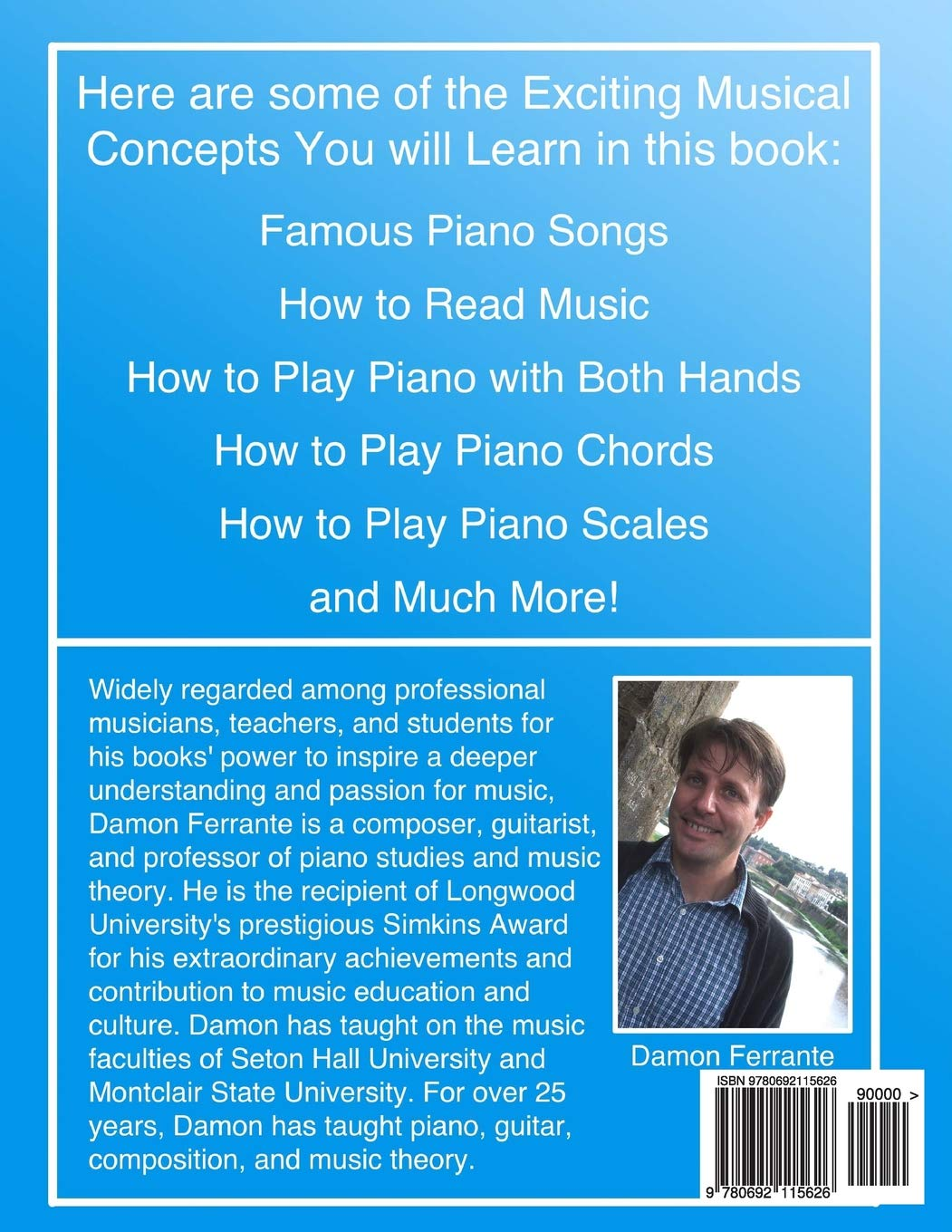 Amazon com: Piano Book for Kids 5 & Up - Beginner Level