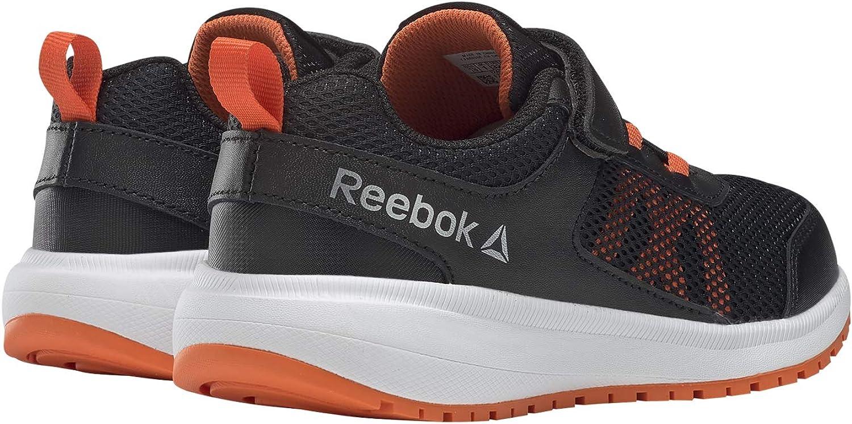 Reebok Road Supreme Alt, Chaussures de Trail Mixte Enfant Multicolore Black Orange Silver 000