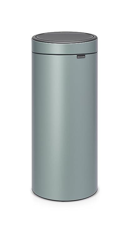 Brabantia 30 Liter Touch Bin.Brabantia Touch Bin New 30 Litre Metallic Mint