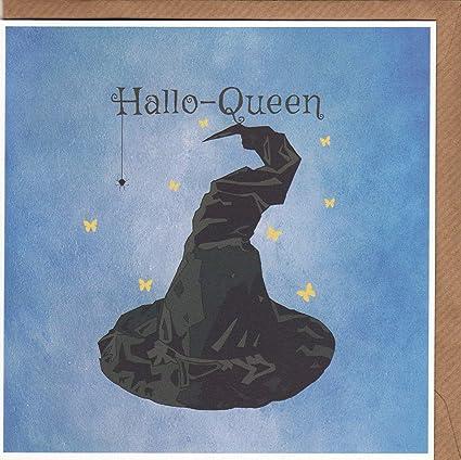 Tarjeta de felicitación de cumpleaños de Halloween con ...