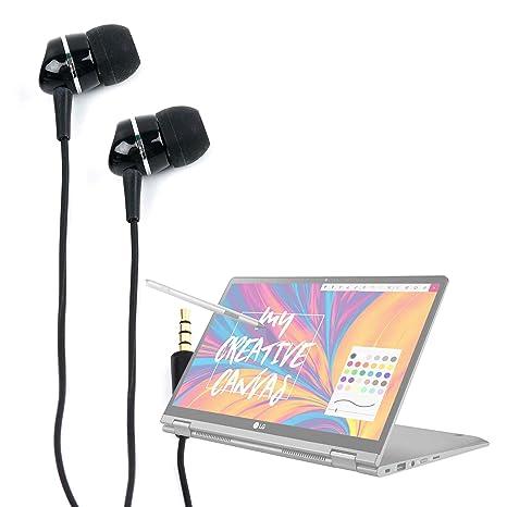 DURAGADGET Auriculares para Portátil Samsung Notebook 9 Pro 15 2019, LG gram 14 2019,