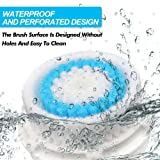 2 Pack Deep Pore Facial Cleansing Replacement Brush Heads for Mia 1, Mia2, Mia3 (Aria), SMART Profile, Alpha Fit, Pro, Plus and Radiance Cleansing Systems