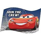 amazon com disney cars party invitations envelopes kitchen dining