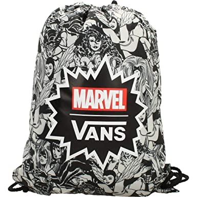 098caf2997a5 VANS Benched Bag Marvel Woman Black Drawstring bag VN0A3RCLBLK VANS MARVEL  Bags