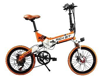 Eléctrica Plegable bicicleta de ciudad Hombres/Damas Bicicleta Bicicleta De Carretera RT730 250W*48V