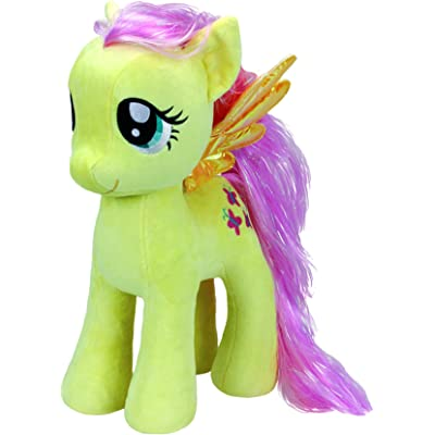 Ty Beanies My Little Pony Fluttershy Large Yellow: Toys & Games
