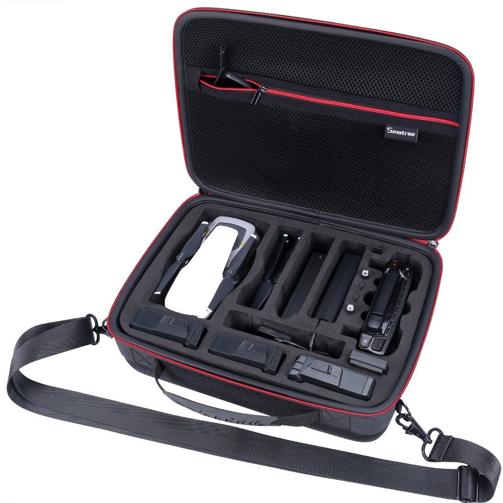 Smatree Carrying Case Compatible for DJI Mavic Air DA500 Travel Case for DJI Mavic Air Fly More Combo Not for mavic pro mavic platinum