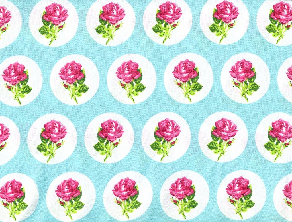 Betsey Johnson Flower Dot 4 Piece Queen Sheet Set- Rose