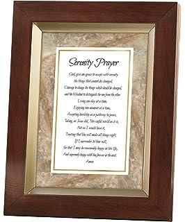 cb gift meaningful moments serenity prayer framed print