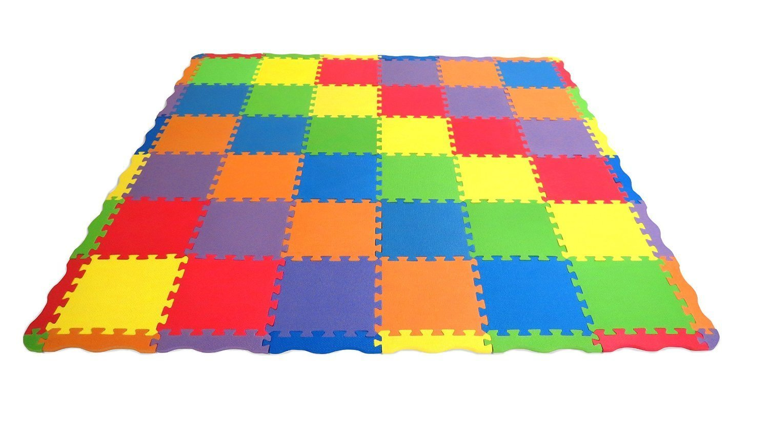 amazoncom  edushape edutiles  piece solid play mats each  - amazoncom  edushape edutiles  piece solid play mats each tilemeasures  x    edges   corners total  pieces  baby