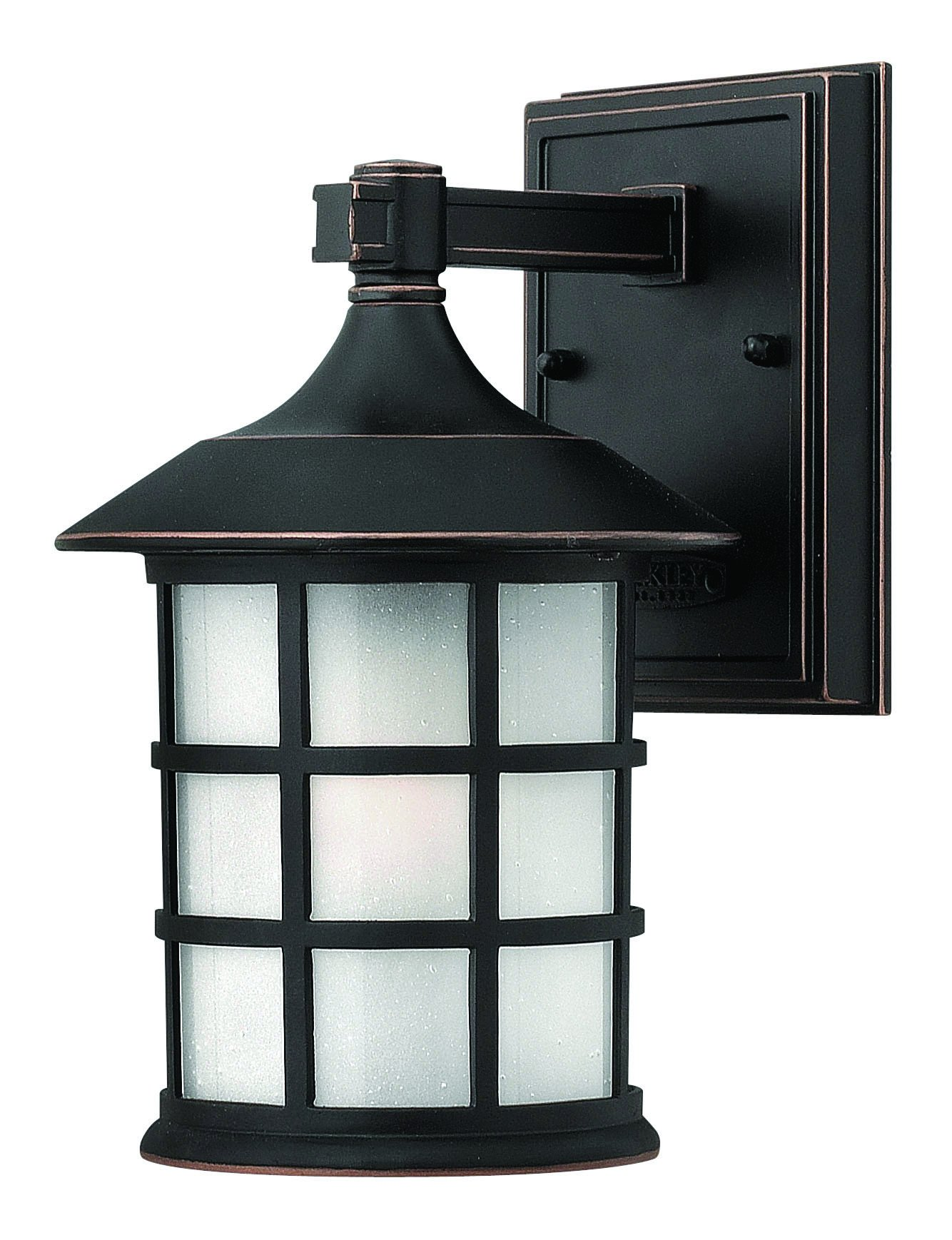 Hinkley 1800OP Traditional One Light Wall Mount from Freeport collection in Bronze/Darkfinish,