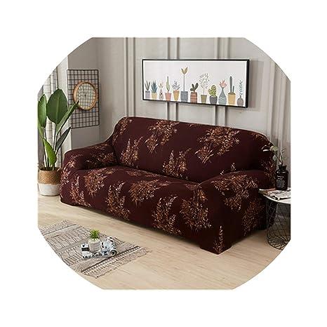 ACOMY - Funda de sofá elástica con diseño de Rosas, para ...