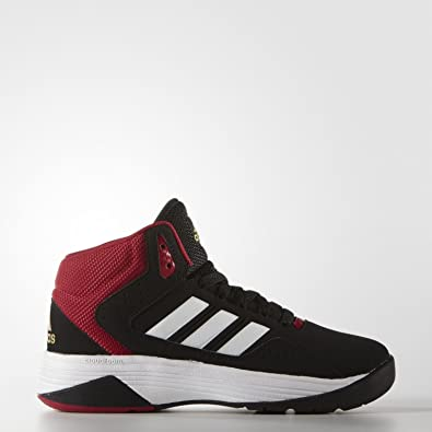 half off 8a88a 457a5 adidas neo Boy s Cloudfoam Ilation Mid K Black, White and Matte Gold Indian  Shoes - 1 UK India (33 EU)  Buy Online at Low Prices in India - Amazon.in