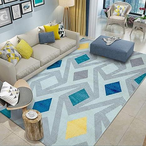 Amazon.com: Enkoo Area - Alfombra de diseño marroquí para ...