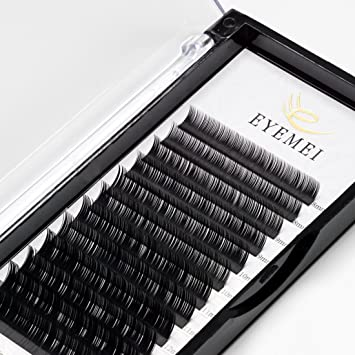 21b9bca02cd Amazon.com : Eyelash Extensions 0.15mm C Curl 9-15 Mixed Eyelash extension  Light Lashes Individual Eyelashes Black Mink lashes extensions Professional  ...