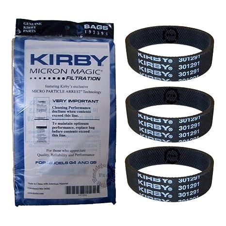 Original Kirby filtro - bolsas con filtros para 9 pack ...