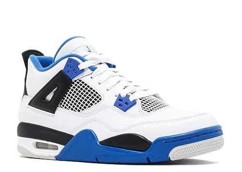 248863cd625 Nike AIR Jordan 4 Retro BG (GS)  Motor Sport  - 408452-117  Amazon.ca  Shoes    Handbags