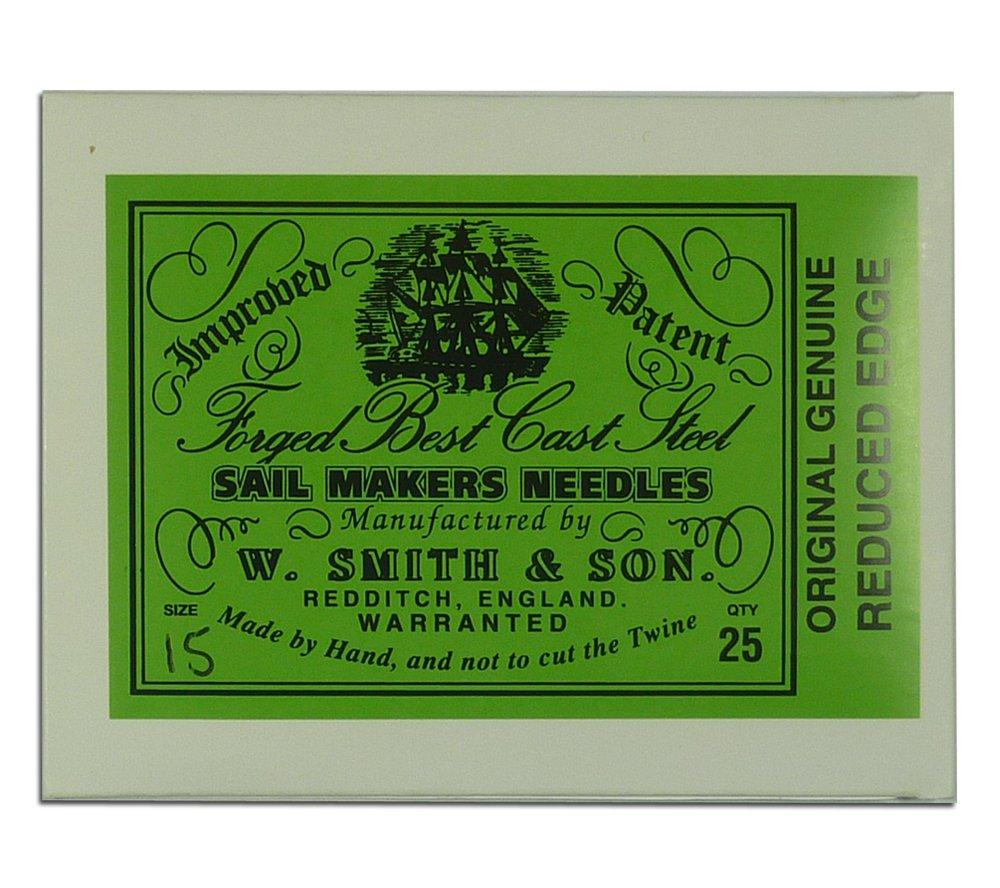 Wm. Smith & Son 25-pk of #15 Sailmakers' Needles by Wm. Smith & Son