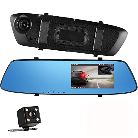 Car & Truck Parts Waterproof 170° Car Rear Front Side View Camera Backup Reverse Cam Mirror Image