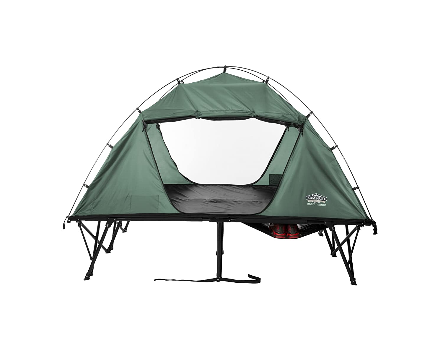 K& Rite Compact Tent Cot Double  sc 1 st  Amazon.com & Amazon.com : Elevated Off-Ground Tent Sleeping Shelter- Perfect ...