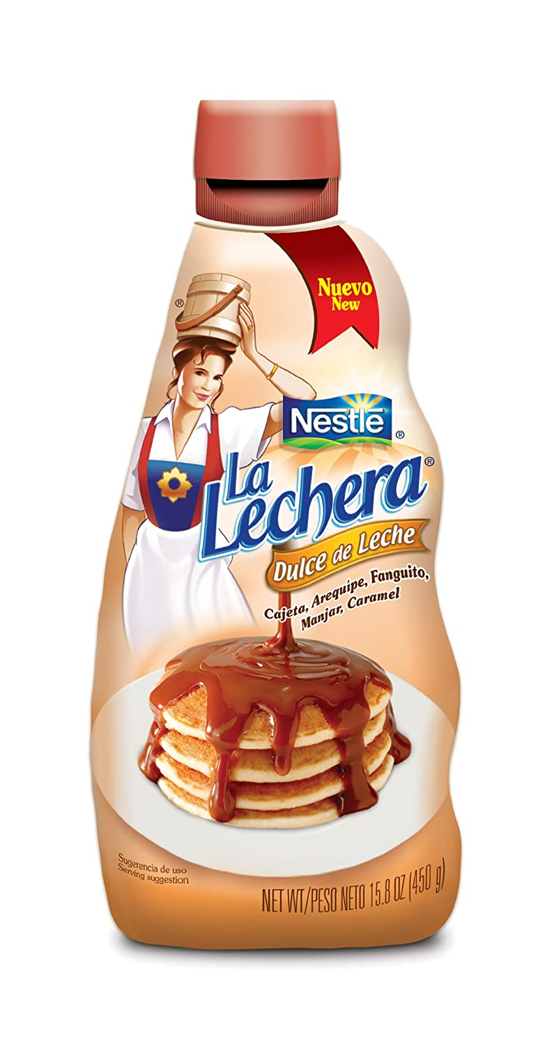 Amazon.com : La Lachera Dulce De Leche, 15.8-Ounce Squeeze Bottles (Pack of 4) : Grocery & Gourmet Food