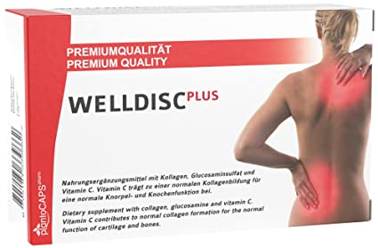 plantoCAPS Welldisc Plus Cápsulas para Discos Intervertebrales - 60 Cápsulas