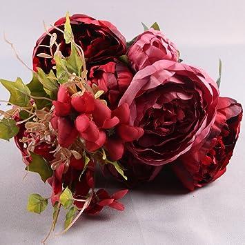 Amazon De Blumen Kunstliche Kunstblumen Innen Und Aussenbereich
