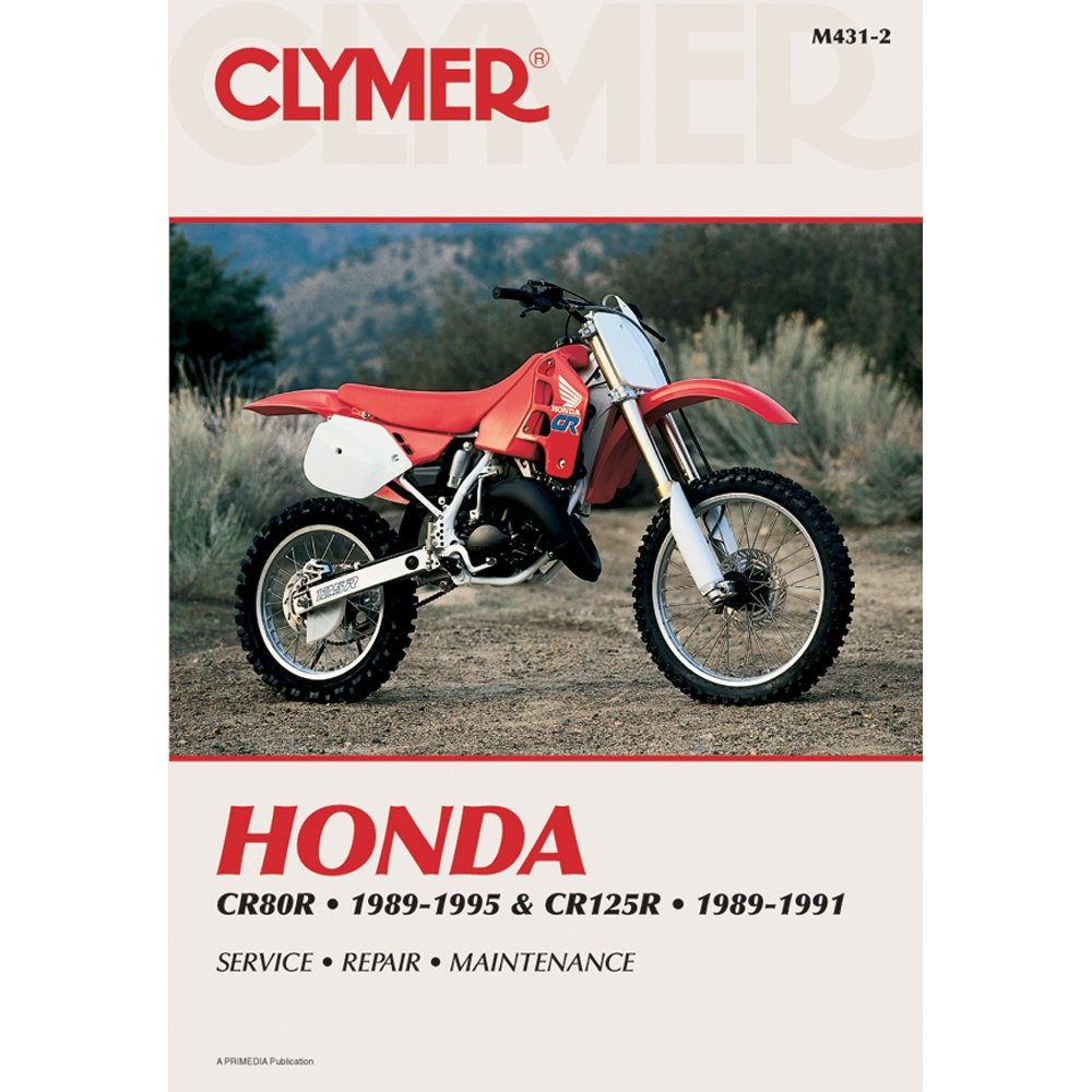 Amazon.com: Clymer Repair Manual for Honda CR80R CR125R 89-95: Automotive